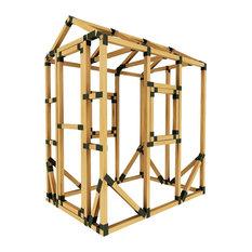 4ft W x 6ft D E-Z Frame Playhouse Kit