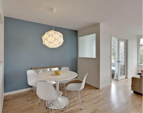 Scegliere colore pareti da dipingere fino a metà altezza in soggiorno