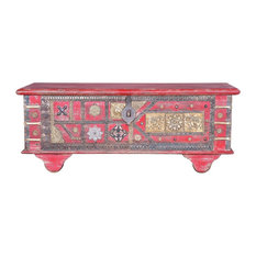 Advik Indian Decorative Storage Trunk