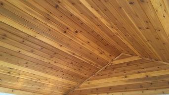 Cedar Ceiling insall