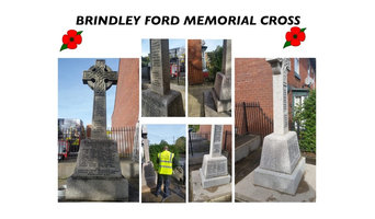 Brindley Ford memorial cross