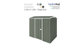 Eco-friendly 2.25m x 1.50m – SPECIAL Garden shed