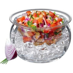 Contemporary Serving And Salad Bowls by OCI