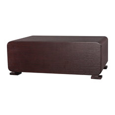 Bh Furniture - Single Drawer Night Stand With Auto-Close Tracks In Wenge Finish - Nightstands and Bedside Tables