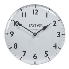 "Taylor Precision 12"" Pool/Patio Clock 166"