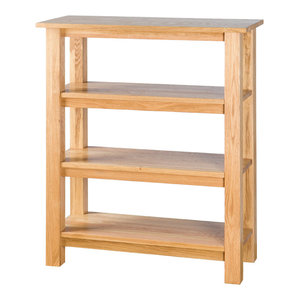 Oak Bookcase, Short