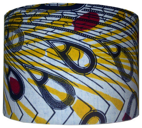 Handmade African Inspired Lampshades For Sale