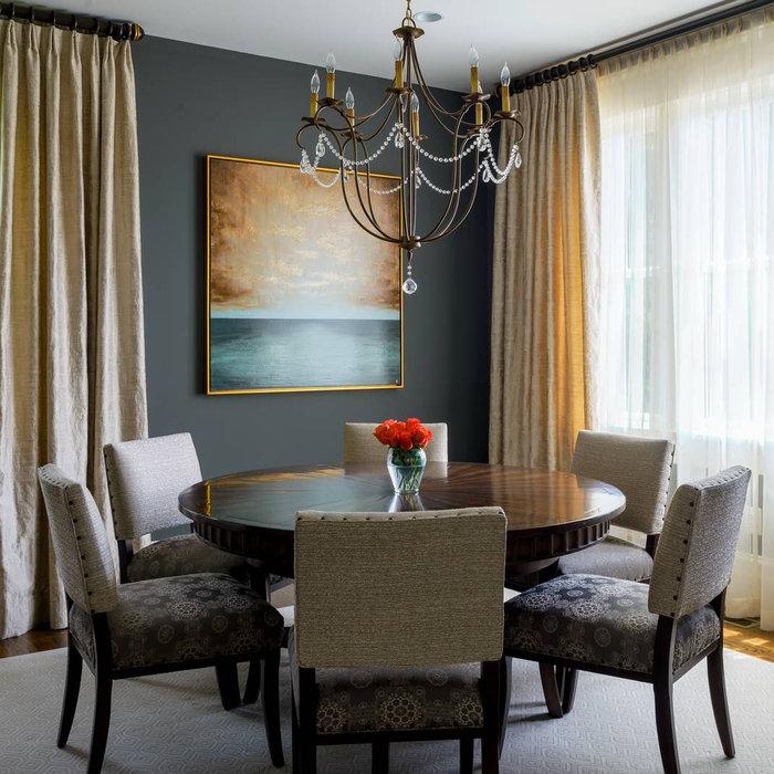 Warm & Cozy Dining Room