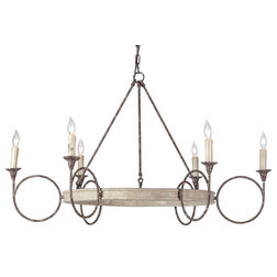 Farmhouse Chandeliers by GABBY