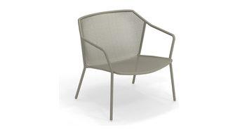 Emu Darwin Steel Outdoor Lounge Chair, Set of 2, Antique Moss Gray