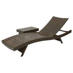 Shop houzz design an outdoor living room for Bernard chaise lounge