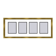 Gold Collage Picture Frame - 4 openings for 5X7 photos