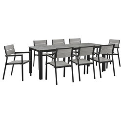 Contemporary Outdoor Dining Sets by House Bound