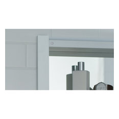"R3 Series Cabinet, 24""x26""x4"", Single Door, Polished Edge, RC2426D4FP1"