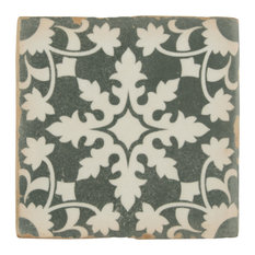 "4.88""x4.88"" Chronicle Ceramic Floor/Wall Tiles, Zahra"