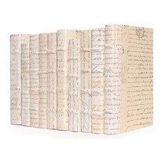 Linear Foot of Ivory Script Books