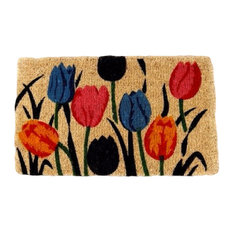 "Multi Tulip Natural 1"" Thick Doormat"