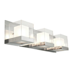 dvi lighting 3 light vanity chrome bathroom vanity lighting