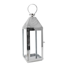 Decorative Silver Lantern, Small