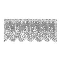 heritage lace blossom valance white valances