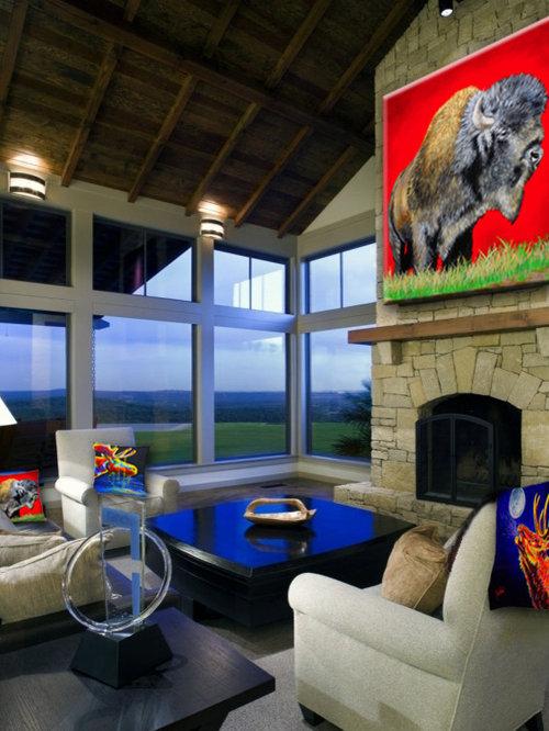 western interior design photos