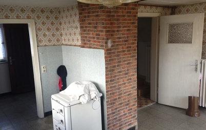 Unglaublich, wie aus dieser Kammer eine moderne Wohnküche wird
