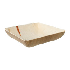 Leaf \u0026 Fiber - Compostable and Sustainable Fallen Palm Leaf Serving Bowl Brown 25  sc 1 st  Houzz & Most Popular Contemporary Disposable Plates and Bowls for 2018 | Houzz
