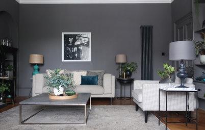 Vorher-Nachher: Mit cleveren DIY-Ideen zum neuen Wohnzimmer