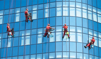 Curtainwall Glass Cleaning