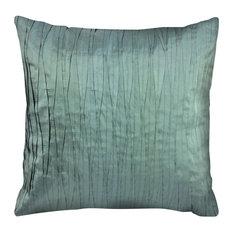 """Lucca Throw Pillow, Light Teal 18""""x18"""""""