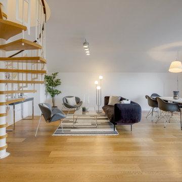 Dachgeschosswohnung Harlaching - Wohnen
