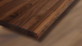 Detailansichten unserer Produkte: Tischplatte