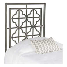 Lucinda Antique Iron Metal Headboard Twin