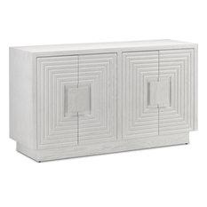 Morombe Cabinet - Cerused White