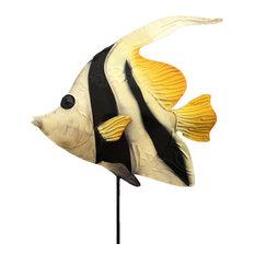 Garden Stake Angel Fish
