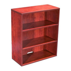 Boss Wood Bookcase In Cherry Finish N153-C