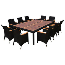 Tropical Outdoor Dining Sets by vidaXL