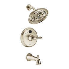 Delta Traditional 14 Series Temp2O Tub, Shower Trim, Brilliance Nickel