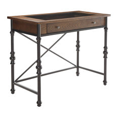Acme Jalisa Counter Height Table, Walnut and Black