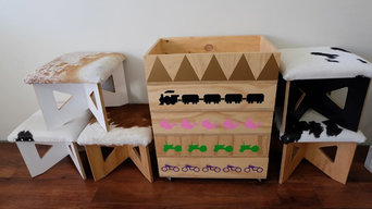 Kids storage boxes