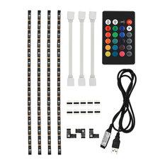 Ordinaire TORCHSTAR   Usb LED Multicolor Rgb Tv Backlight Kit   Undercabinet Lighting