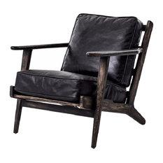 Brooks Lounge Chair, Ebony
