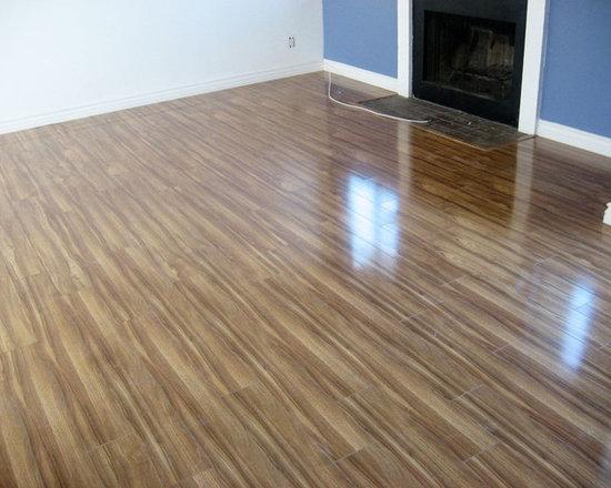Exotic Walnut Glossy Laminate Floor Laminate Flooring