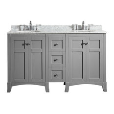 stand alone bathroom vanities | houzz