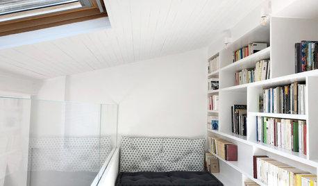 Avant/Après : Pureté minimaliste sous les toits de Paris
