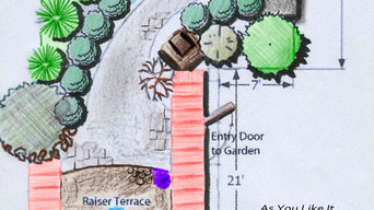 Baltimore County Landscape Design Ideas with water feature