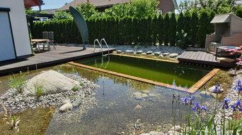 Teiche und Pools