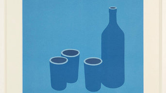 Patrick CAULFIELD: Bottle and Cups
