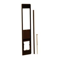 "Hale Pet Door Omni Panel Cat & Dog for Sliding Glass Doors, Large_White_Upto 82"""