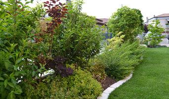 Piccolo giardino privato in Provincia di Treviso